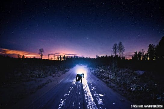 Night Photo of Finland